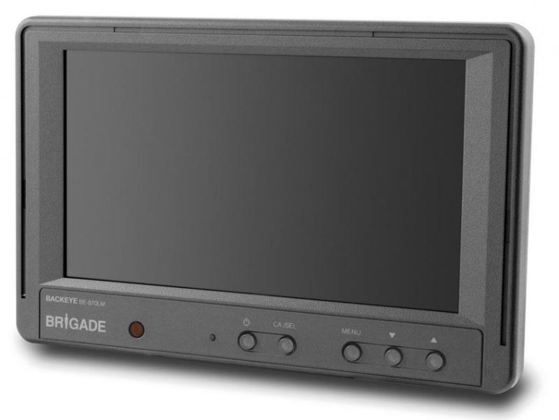 brigade 7 lcd r ckfahrmonitor be 870 lm. Black Bedroom Furniture Sets. Home Design Ideas